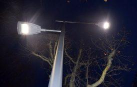 L'illuminazione pubblica arriva in 15 nuovi punti della città