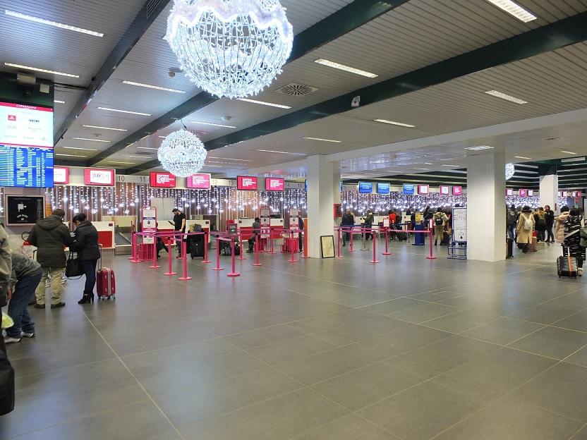 Aeroporto di Bergamo, più bella e comoda l'area check-in
