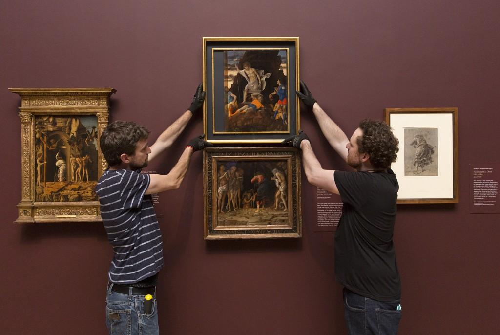 """Le due """"Resurrezioni"""" del Mantegna riunite a Londra"""