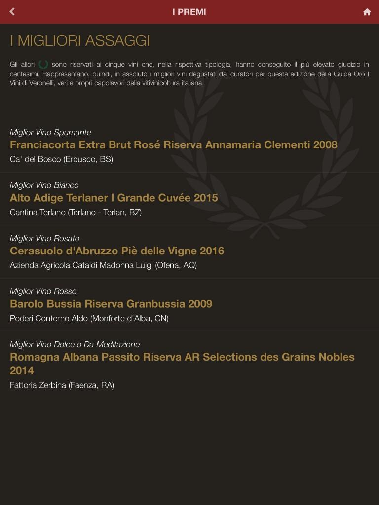 La Guida Veronelli 2019 su smartphone e tablet: in un'app più di sedicimila vini e oltre duemila produttori