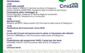 Premiazione Rete Città Sane di Bergamo