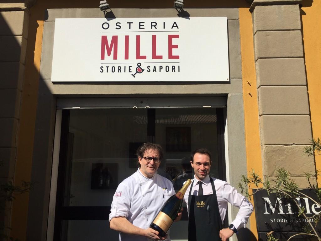 Gran gusto per l'Osteria dei Mille Sapori a Bergamo