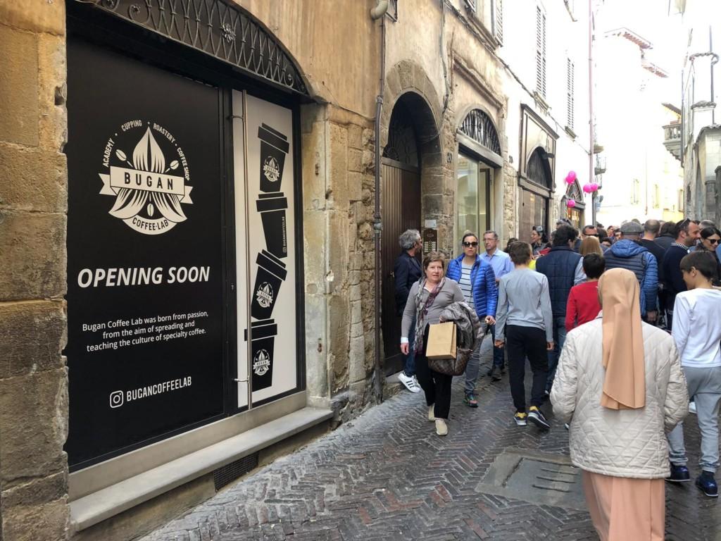 "In arrivo a Bergamo Alta ""Bugan Coffee Shop"""