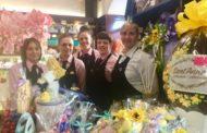 Sant'Anna a Bergamo, la pasticceria tutta rosa