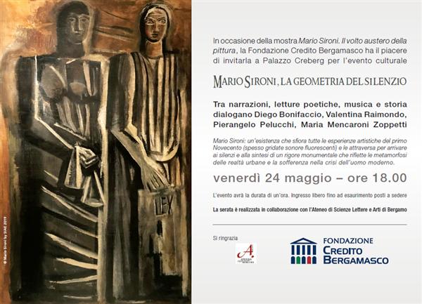 """""""Mario Sironi. La geometria del silenzio"""""""