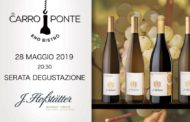 Dall'Alto Adige i vini Hofstatter al Carroponte di Bergamo