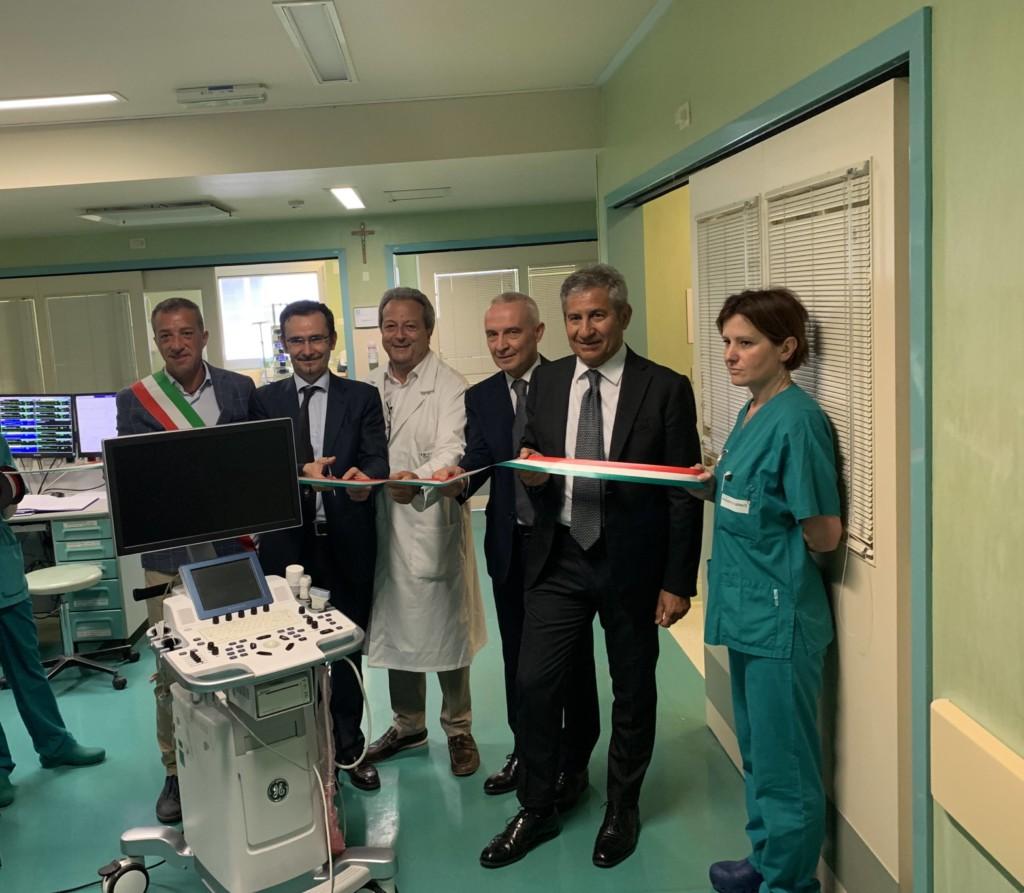 Fondazione Credito Bergamasco dona un nuovo ecocardiografo
