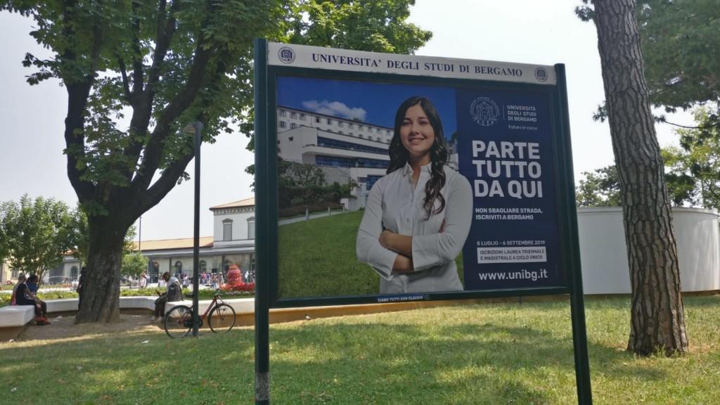 Università degli Studi di Bergamo dall'8 luglio al via le immatricolazioni