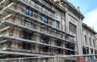 Procura di Piazza Dante, restauro per facciata e statue