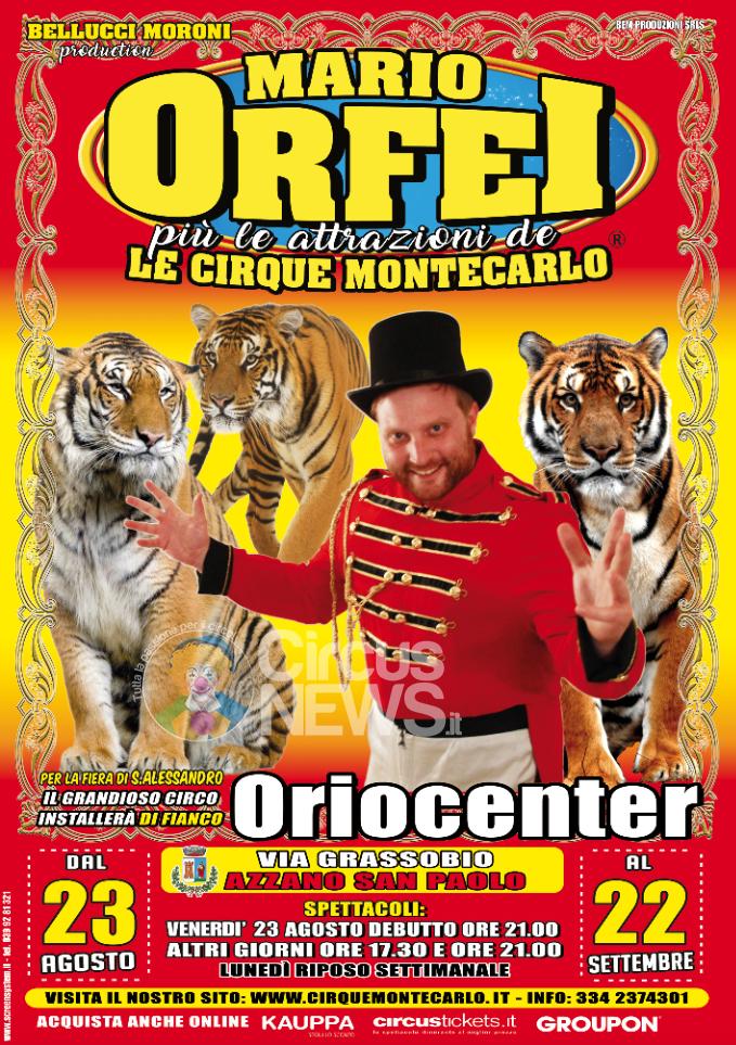 Mario Orfei più Le Cirque Montecarlo per S. Alessandro