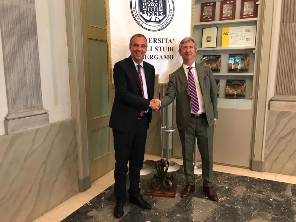 Il Rettore dell'Università incontra il Console di Francia