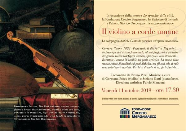 """""""Il violino a corde umane"""""""