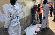 Scritte contro Salvini a S. Lucia cancellate dai giovani migranti