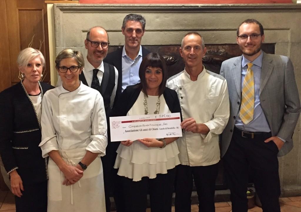 Cucina regionale benefica al ristorante Trota di Laxolo