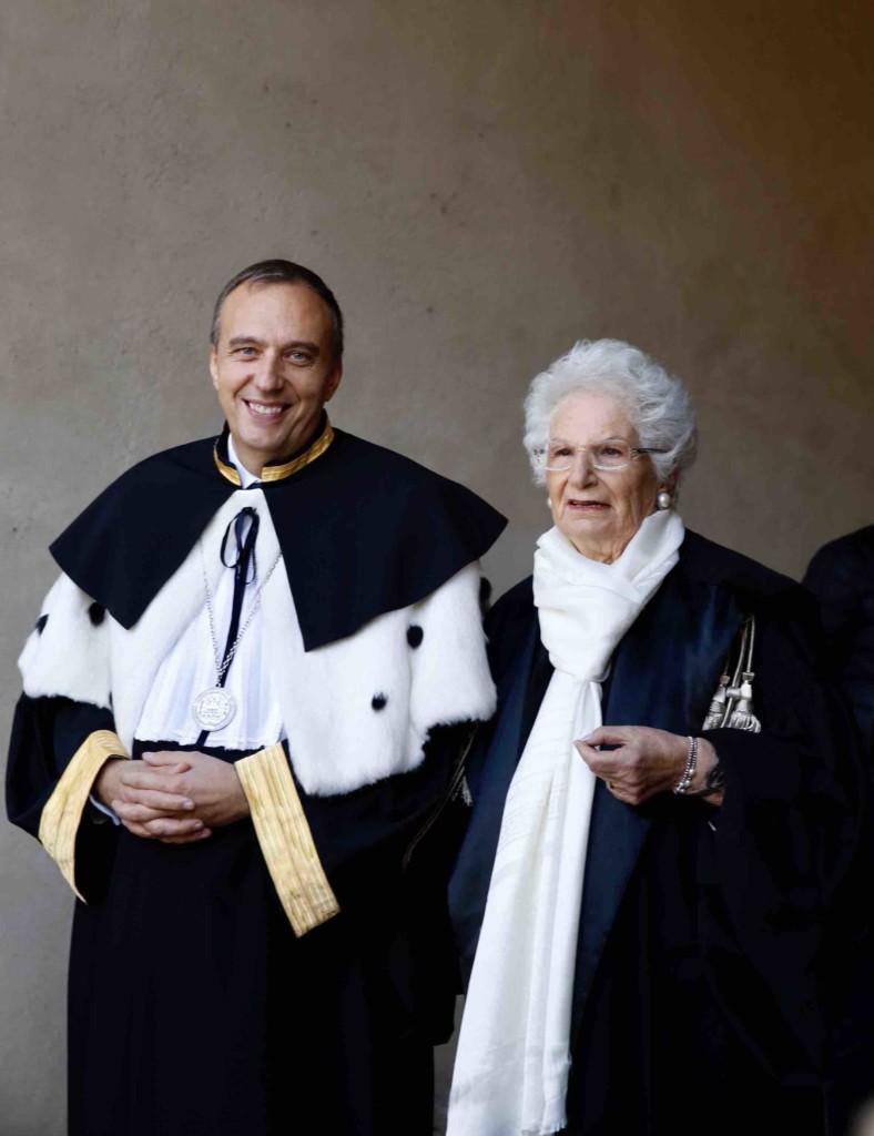 UNIBG consegna il dottorato ad honorem a Liliana Segre