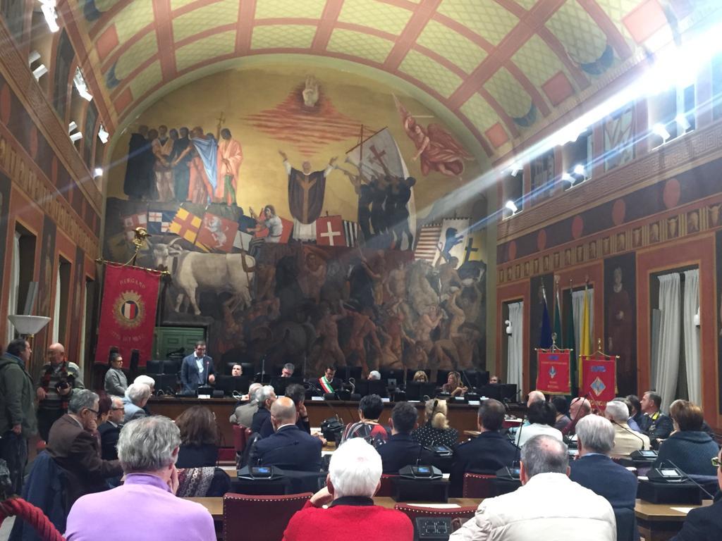 Avis comunale Bergamo premia i suoi migliori donatori