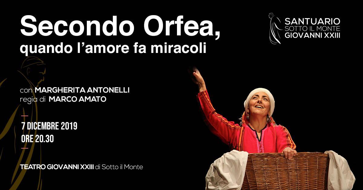 """""""Secondo Orfea: quando l'amore fa miracoli"""""""