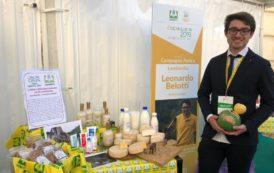 Il formaggio d'asina di Leonardo Belotti è da Oscar (Green)