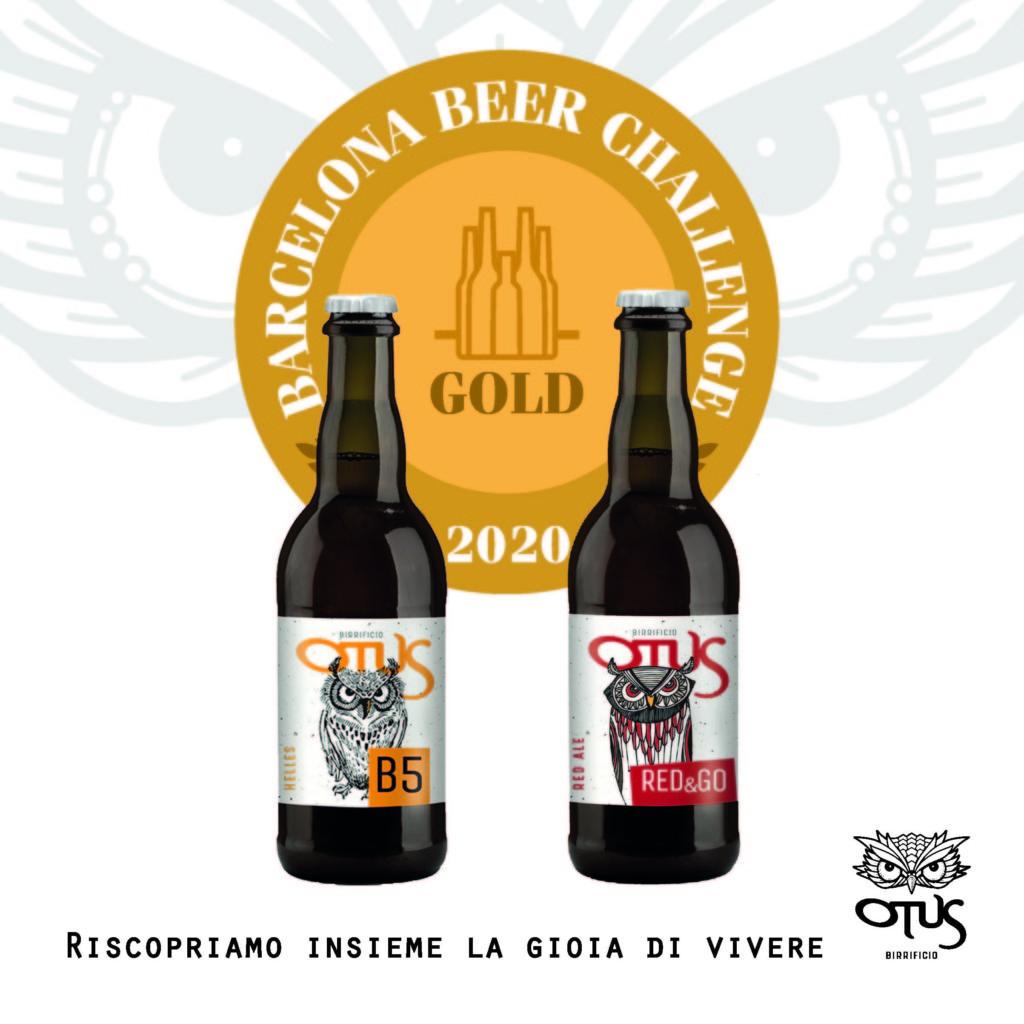 A Barcellona medaglie d'oro per birre bergamasche Otus