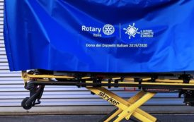 500 mila euro per Ospedali, Rsa e medici