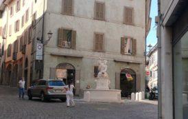 La Fontana del Delfino in via Pignolo è stata restaurata