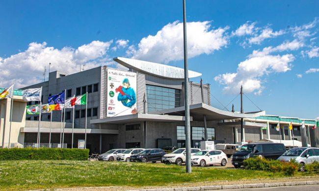 L'ospedale in Fiera diventa ambulatorio per le vaccinazioni