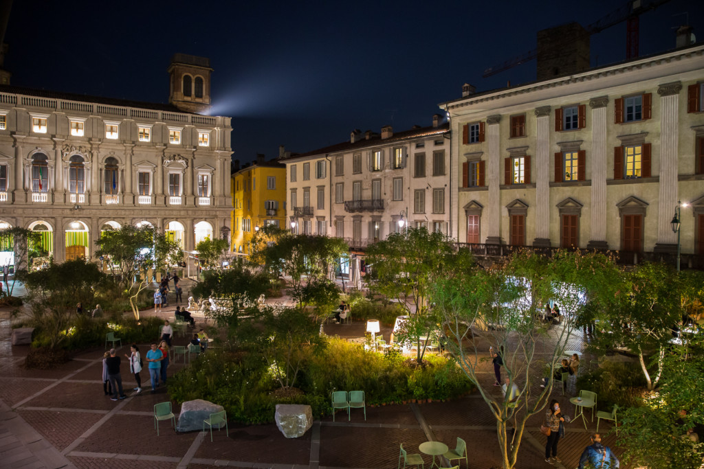 Anche quest'anno Piazza Vecchia tornerà verde
