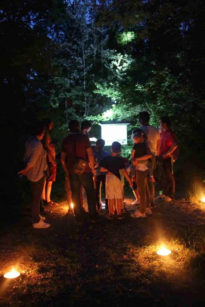 Al Parco Ittico Paradiso protagoniste le lucciole