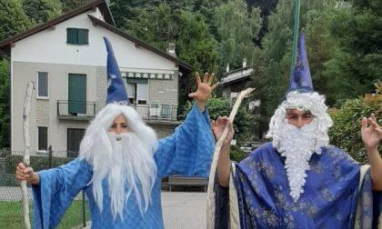 Due maghi a Selvino per far ripartire il cinema parrocchiale