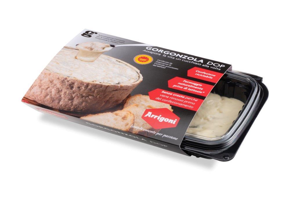 Il Gorgonzola Dop di Arrigoni Battista vince anche per il packaging