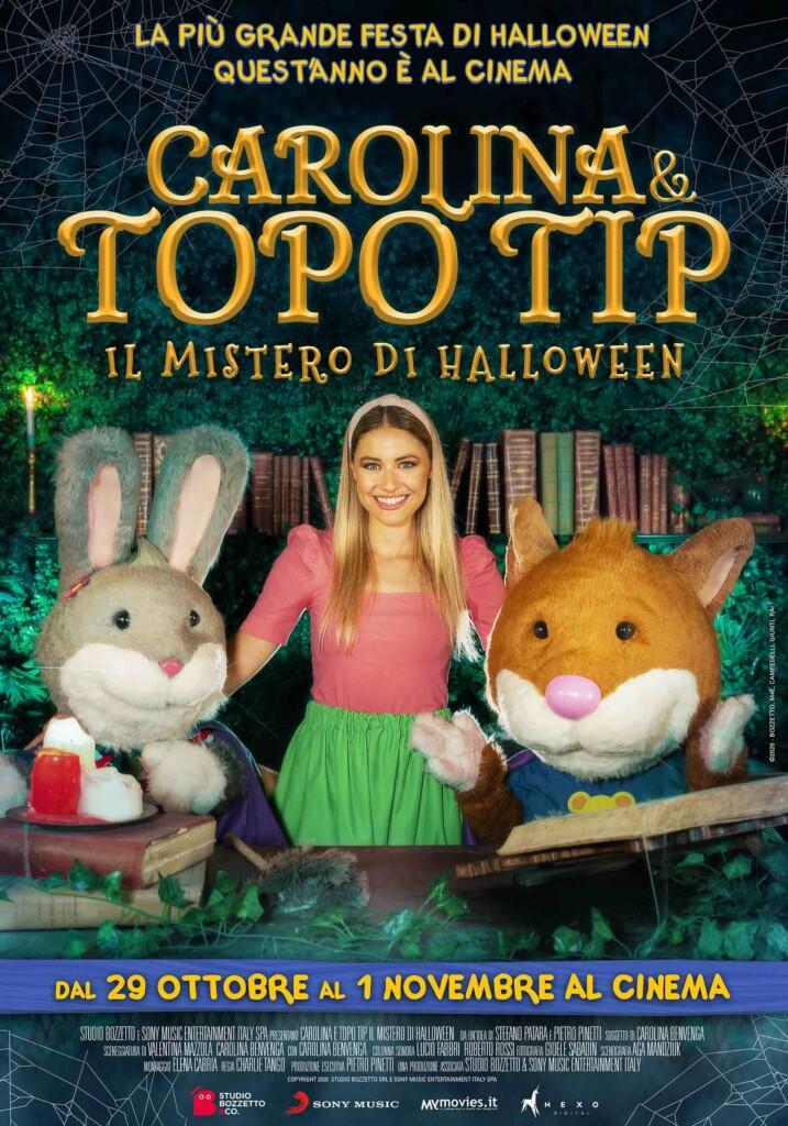 """Studio Bozzetto e Sony insieme per il film evento """"Carolina e Topo Tip- Il mistero di Halloween"""""""