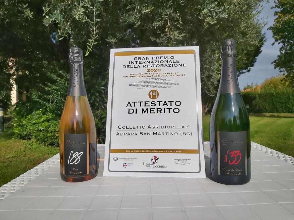 Colletto di Adrara, Gran Premio della Ristorazione