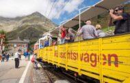 Qui il primo treno turistico d'Italia con carrozze scoperte