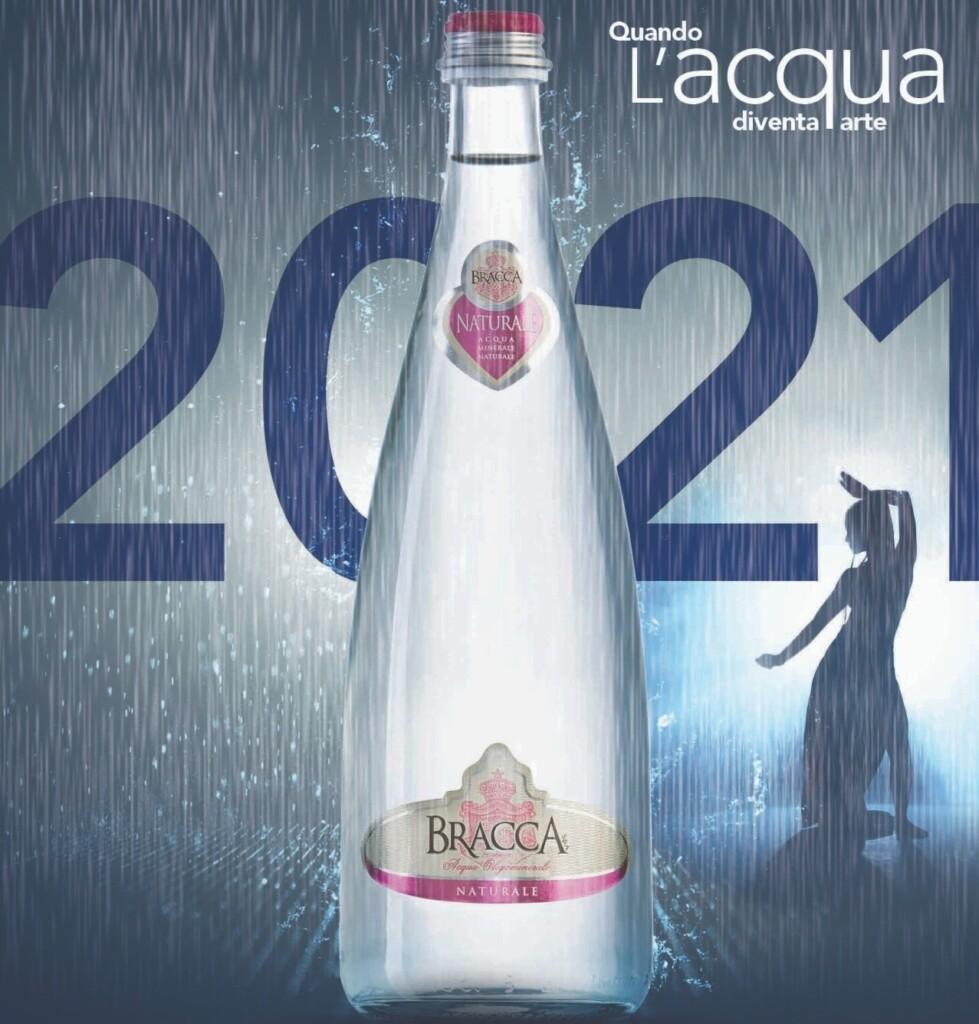 La bellezza dell'acqua nel calendario 2021 di Gruppo Bracca