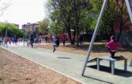 """Riaperto il parco giochi al """"Turani"""" di Redona"""