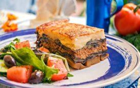 La cucina greca di Greek Fusion al posto di Spontini